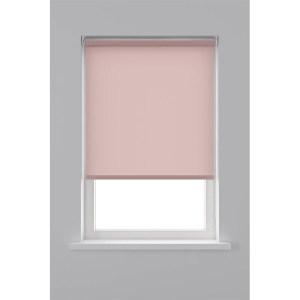 Decosol Rolgordijn Lichtdoorlatend - Licht Roze 90 x 190 cm