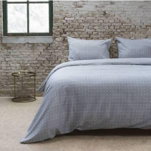 DreamHouse Bedding Hoeslaken Katoen - Grijs 70 x 200