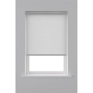 Decosol Rolgordijn Lichtdoorlatend Screenstof - Grijs 120 x 190 cm