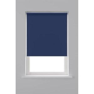 Decosol Rolgordijn Verduisterend - Blauw 60 x 190 cm