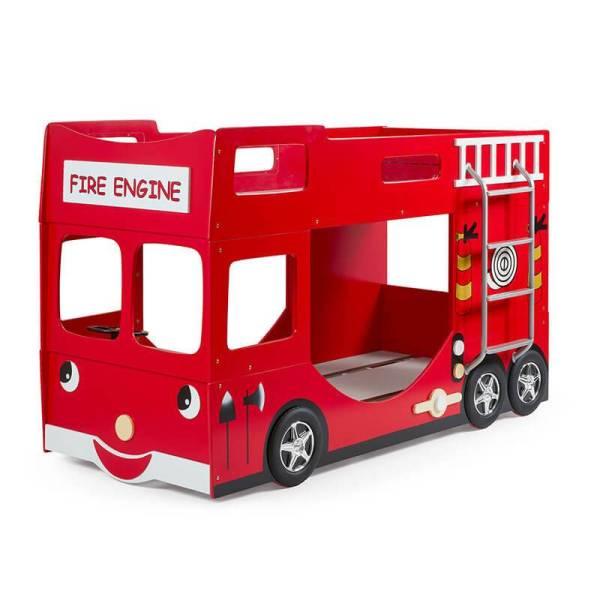 Fire Truck - Stapelbed Dekbed Discounter