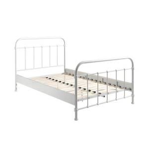 Vipack New York - Bed - 90 x 200 Kleur: Wit