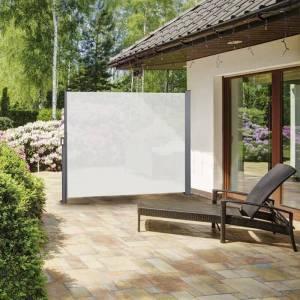 909 Outdoor Oprolbaar Windscherm Creme - 150 x 300 cm