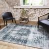 Vloerkleed - Vintage - Donkerblauw Lifa Living Patroon 80 x 150 cm - Ga naar Dekbed-Discounter.nl & Profiteer Nu