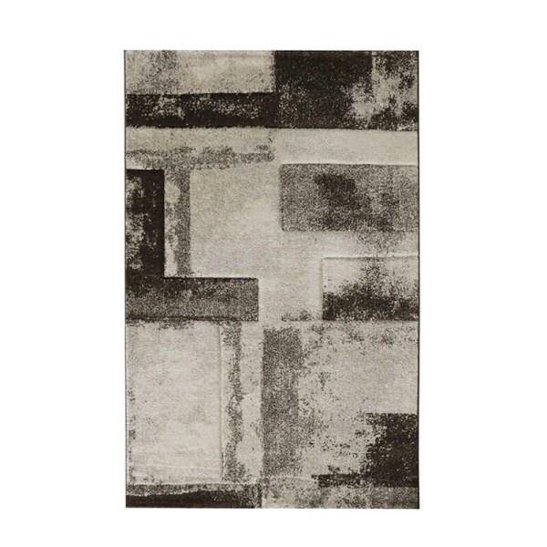 Vloerkleed - Blocks - Beige Trend Patroon