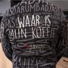 #DARUM! Badjas - Waar is mijn koffie? #DARUM! Tekst S/M - Ga naar Dekbed-Discounter.nl & Profiteer Nu