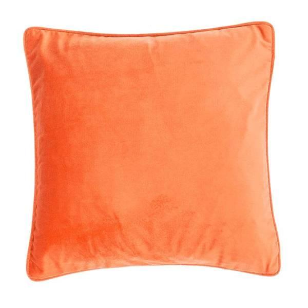 Sierkussen Velvet - Oranje Tiseco Home Studio - Ga naar Dekbed-Discounter.nl & Profiteer Nu