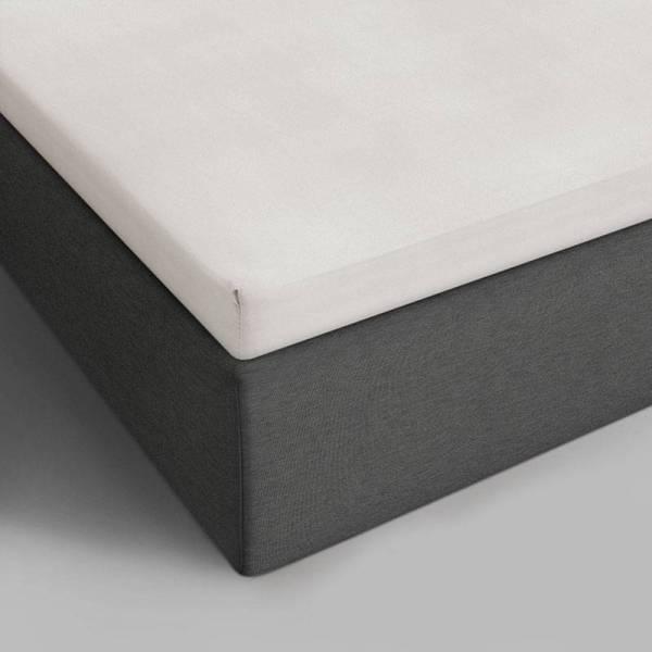 Hoeslaken Katoen - 90x200 cm - Wit - DreamHouse Bedding - Ga naar Dekbed-Discounter.nl & Profiteer Nu
