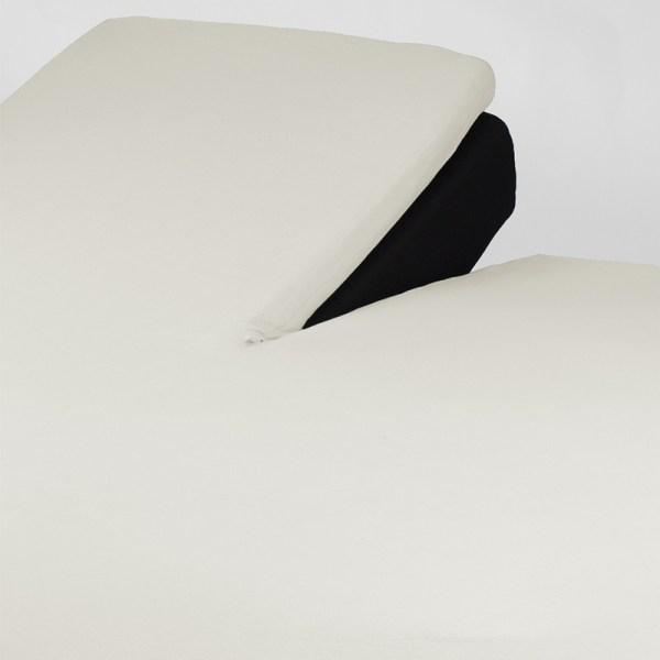 Nightlife Jersey Splittopper Hoeslaken - Creme 160 x 220
