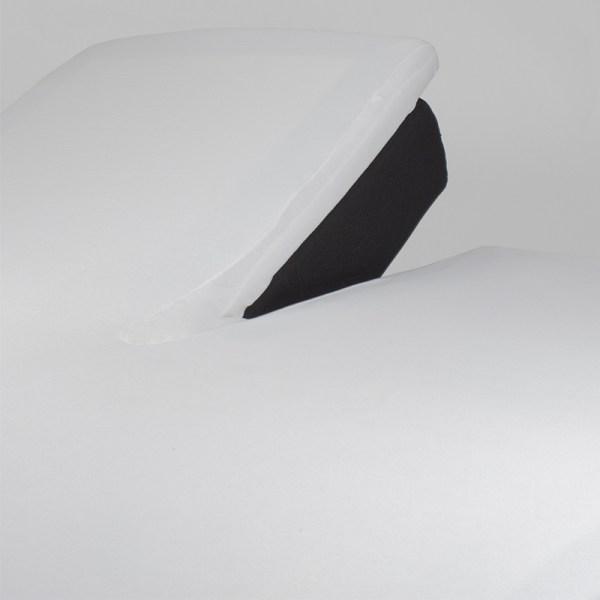 Nightlife Jersey Splittopper Hoeslaken - Wit 160 x 220