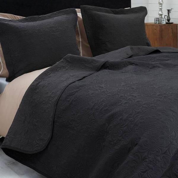 Bedsprei Clara - Antraciet Sleeptime Elegance Patroon - Ga naar Dekbed-Discounter.nl & Profiteer Nu
