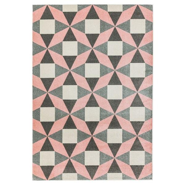 Vloerkleed Colt - Fan Pink Easy Living 120 x 170 cm - Ga naar Dekbed-Discounter.nl & Profiteer Nu