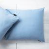 1+1 Gratis - Kussenslopen Percale Katoen - Lichtblauw Presence Effen 60 x 70 cm - Ga naar Dekbed-Discounter.nl & Profiteer Nu