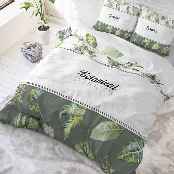 DreamHouse Bedding Botanical Dreams - Wit Lits-jumeaux (240 x 220 cm + 2 kussenslopen) Dekbedovertrek