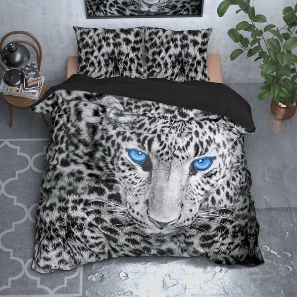 Sleeptime Elegance Cheeta - Grijs 2-persoons (200 x 220 cm + 2 kussenslopen) Dekbedovertrek