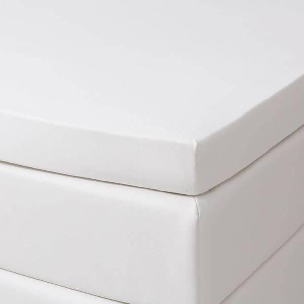 Jersey Hoeslaken - 140x200/210 cm - Creme - Dekbed Discounter