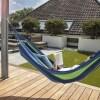 Hangmat Summer 909 Outdoor Strepen Kleur: Blauw/Groen - Ga naar Dekbed-Discounter.nl & Profiteer Nu