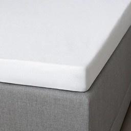 Hoeslaken Katoen - Pasvorm: Standaard Matras 70x190/200 cm - Wit - Presence - Ga naar Dekbed-Discounter.nl & Profiteer Nu