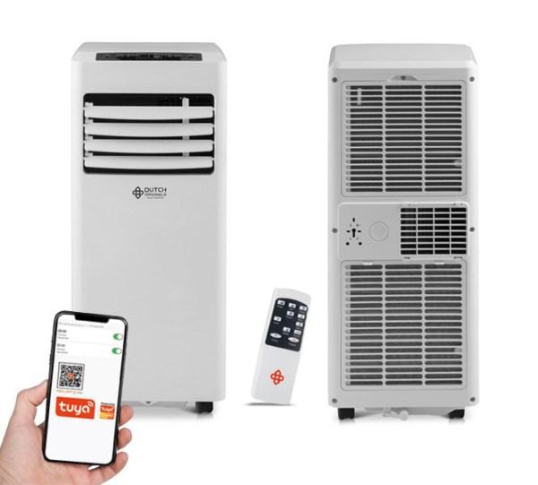 Mobiele Smart Airconditioner - Tot 22 m² Dutch Originals 7.000 BTU - Ga naar Dekbed-Discounter.nl & Profiteer Nu