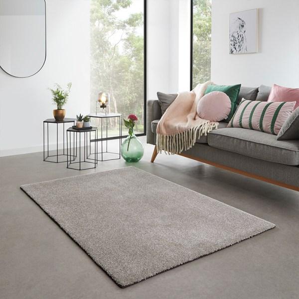 Vloerkleed San Miguel - Grijs Olive Effen 57 x 150 cm - Ga naar Dekbed-Discounter.nl & Profiteer Nu