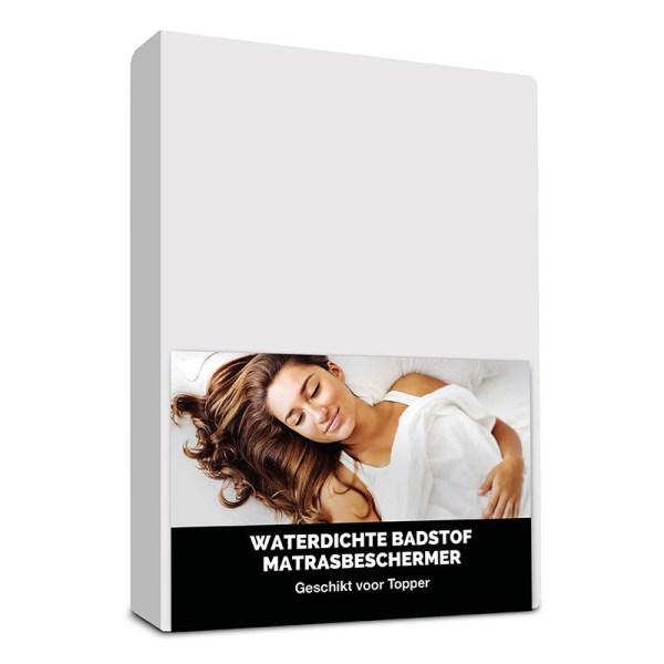 Hoeslaken Waterdichte Badstof Toppermatrasbeschermer Fresh & Co 80 x 200 cm - Ga naar Dekbed-Discounter.nl & Profiteer Nu
