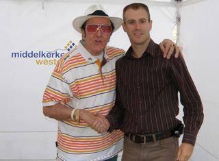 Stijn Michels en Eddy Wally
