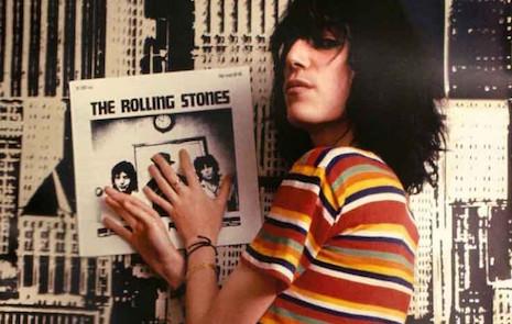 Die plaat die Patti Smith daar in haar pootjes heeft.....