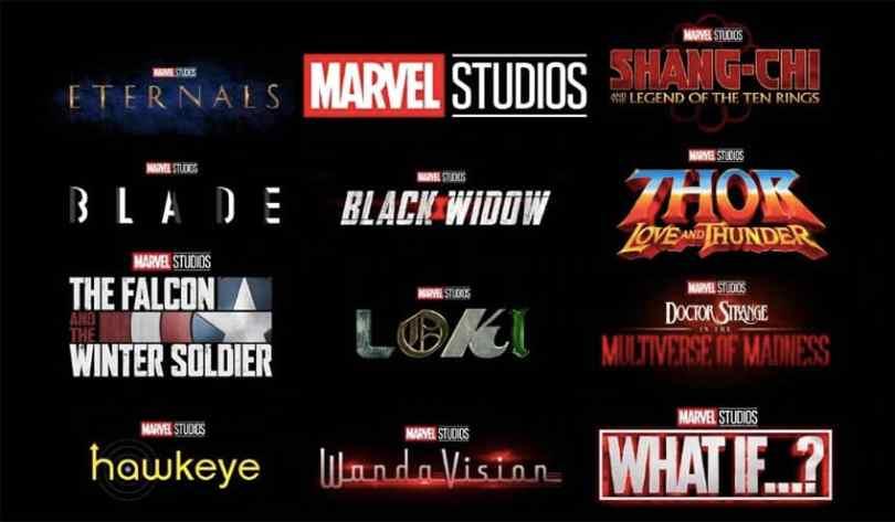 Marvel-Filme Reihenfolge 2021