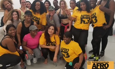 Afro Rhythm and Beats Afrobeat Dance Class Stamford,CT