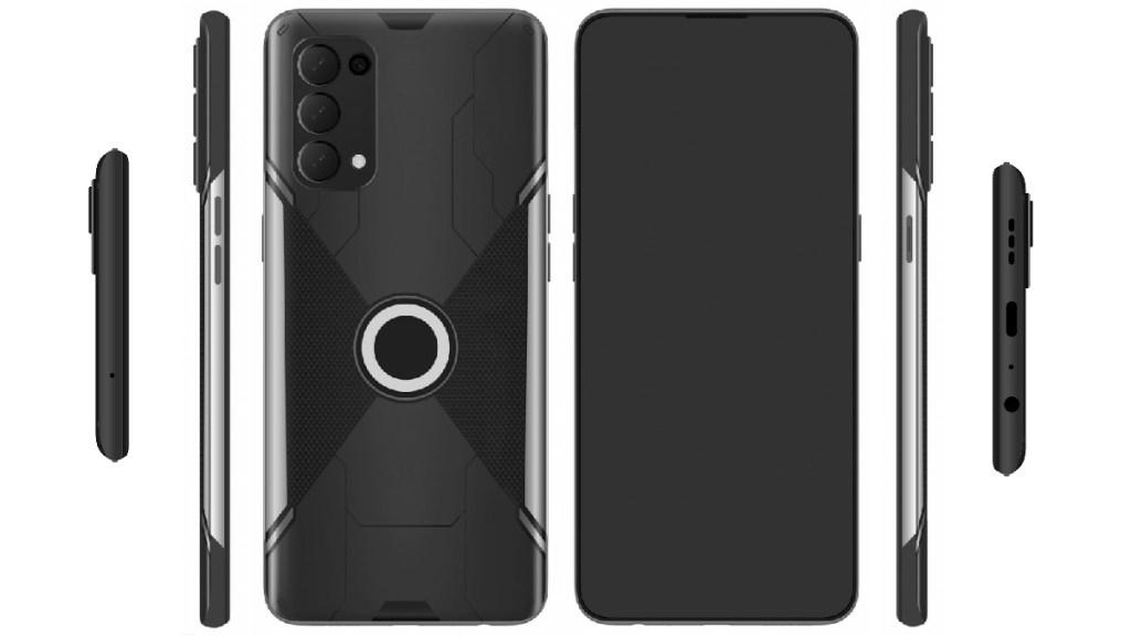 Desain ponsel OPPO Gaming