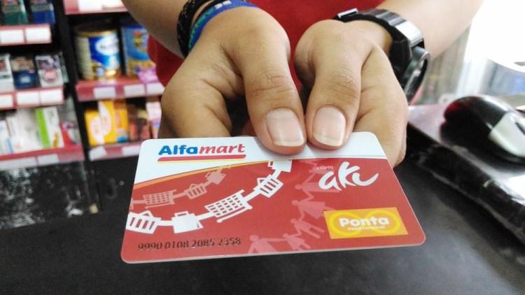 cara mendaftar member alfamart