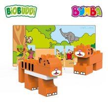 Biobuddi – Bouwblokken Bumba en de Wilde Dieren