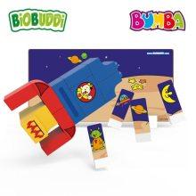 Biobuddi – Bouwblokken Bumba in de ruimte