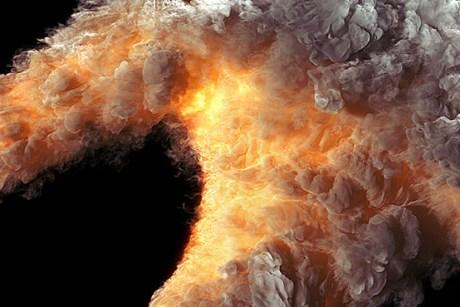 FumeFX fire
