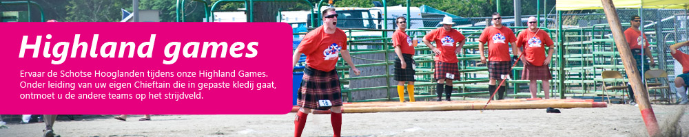 Outdoor evenement Highland games