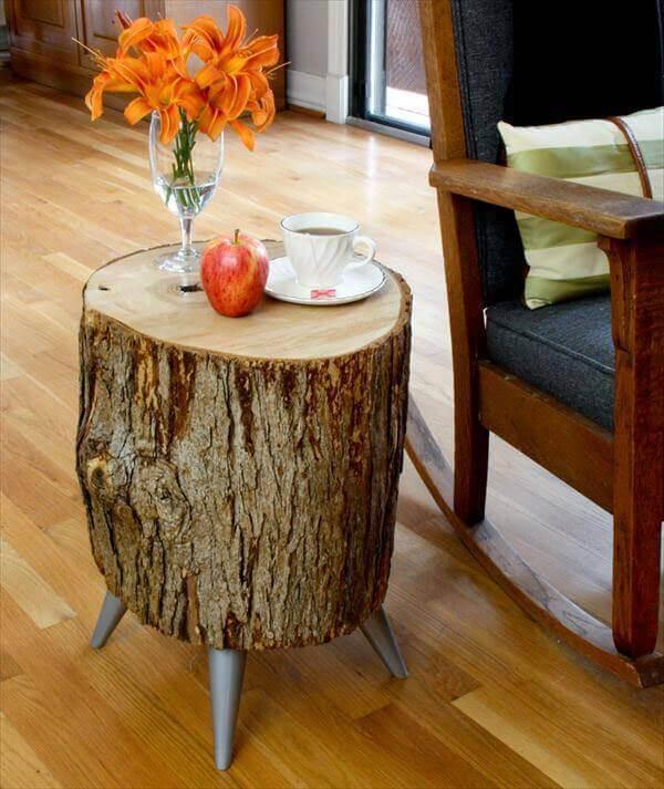 odun dekorasyon fikri