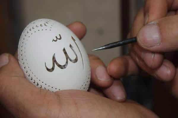 yumurta süsleme sanatı