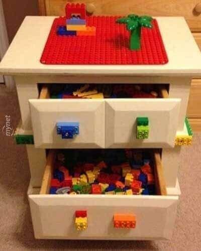 eski eşyaları çocuklar için eğlenceli hale getirin