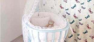 Bebekleri Mutlu Eden 20 Ahşap Beşik Modeli