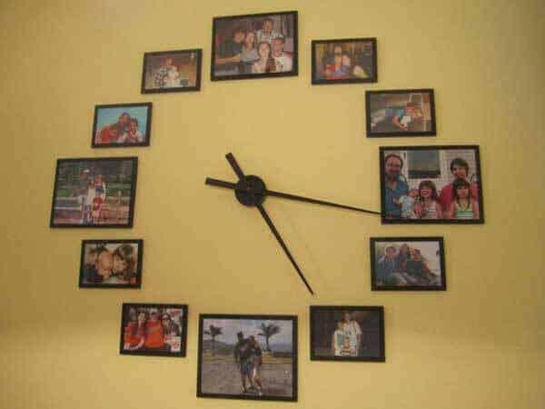 Fotoğraf ile saat yapımı
