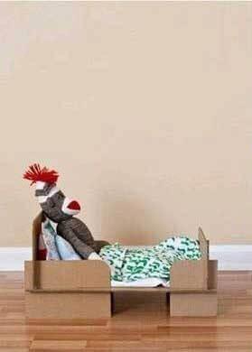 Oyuncak bebek yatağı nasıl yapılır