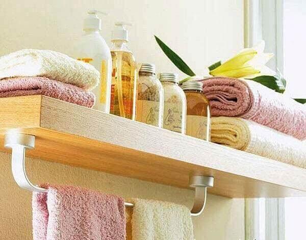 Dar banyo dekorasyon örnekleri