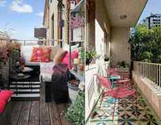 rengarenk-balkon-dekorasyonu