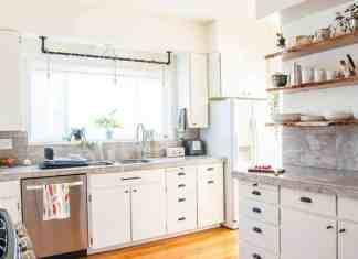 Küçük mutfak yaratıcı depolama