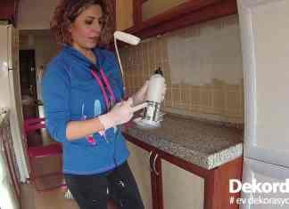 Mutfak fayans boyama uygulaması