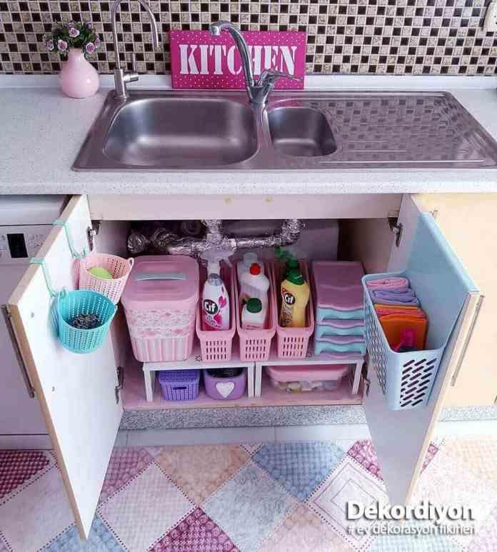 Mutfak tezgah altı düzeni