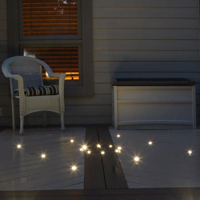 dek dot outdoor led recessed light kit
