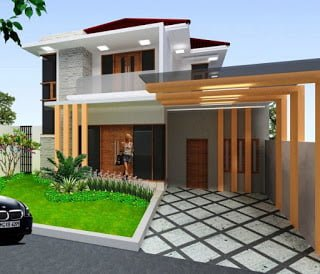 20 Teras Rumah Minimalis Elegan Out Of The Box