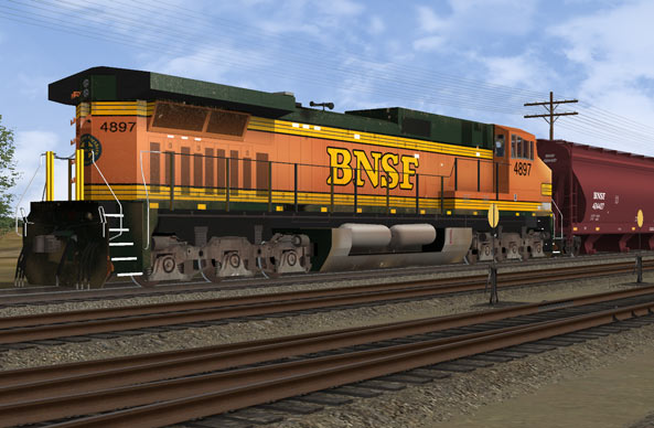 BNSF Mainline Power