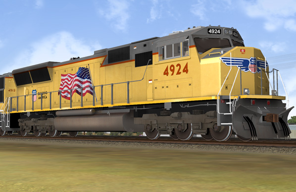 Union Pacific Mainline Power
